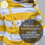 SonntagsDing: Kordeln an Kinderkleidung