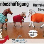 SonntagsDing: Pferdedecken für Schleichtiere basteln