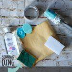 SonntagsDing: Reinigung der Schneidematte
