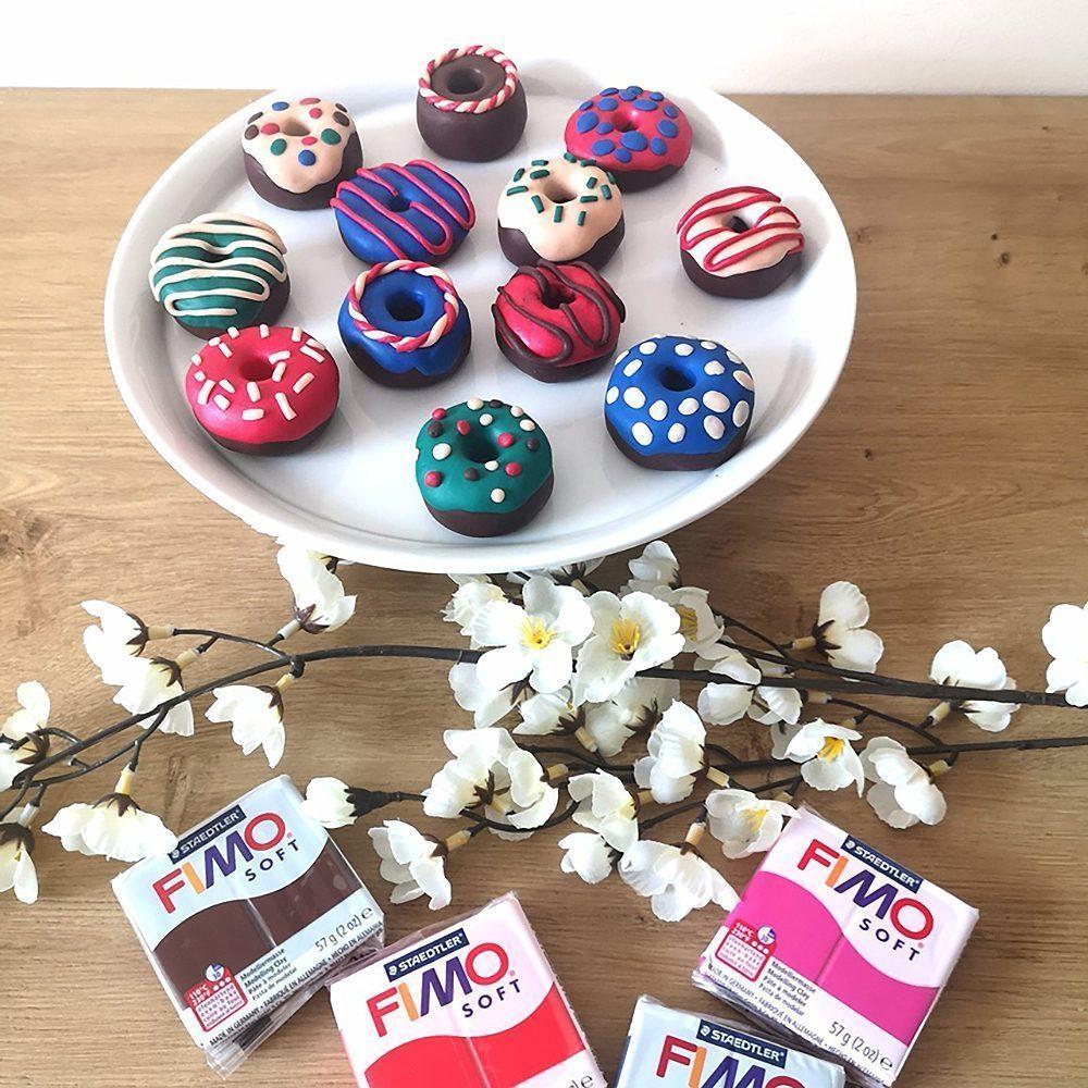 SonntagsDing mit Print4Kids - Nähgewichte Donuts aus Fimo basteln