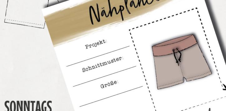 SonntagsDing: Nähprojekte planen