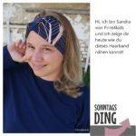 Sonntagsding: Haarband nähen